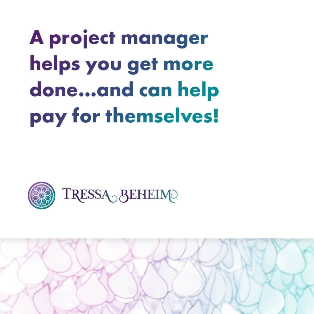 Just because you aren't running a huge business it doesn't mean you don't need help. Here are some benefits of a project manager for you to consider.