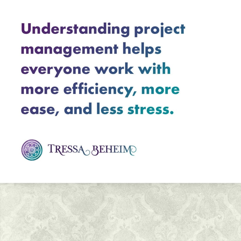 Here are a few key elements of project management in running an efficient business. 2