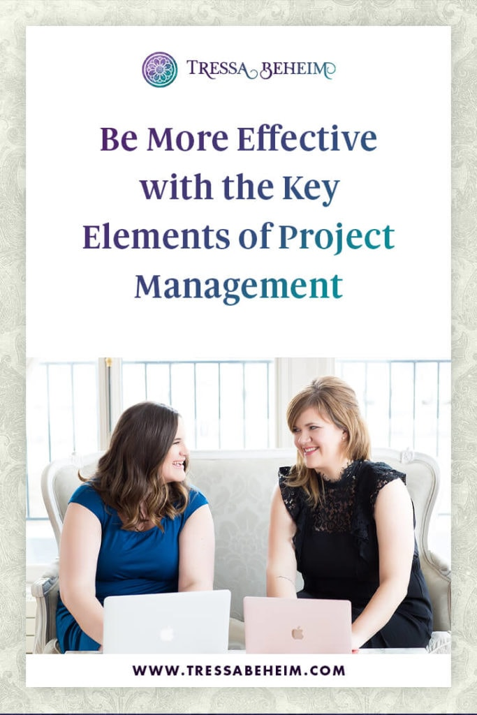 Here are a few key elements of project management in running an efficient business. 1