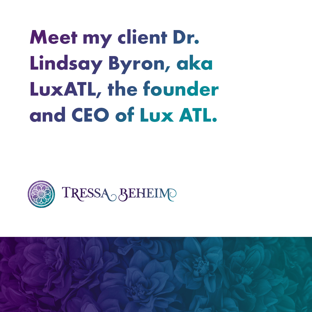 Every successful business starts with a strong foundation. Here's the story of how I helped LuxATL go from a one-woman show to full-fledged CEO.