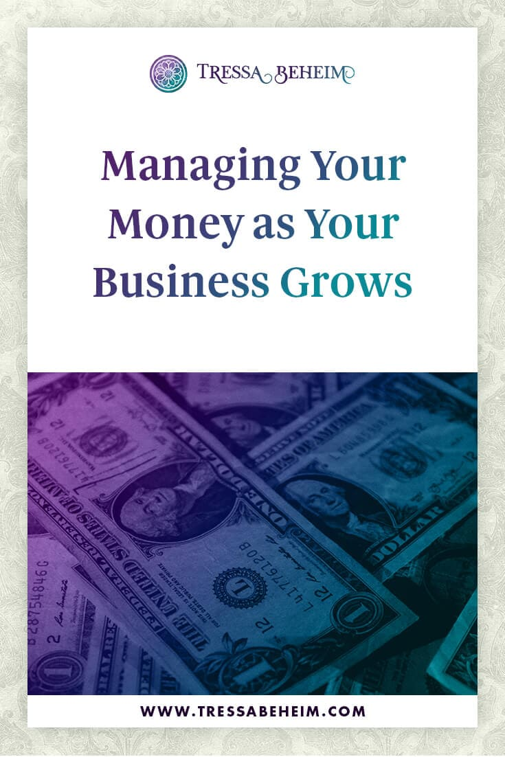 As your business grows, so does revenue, along with other financial commitments. Here are some tips on managing your money through times of growth.