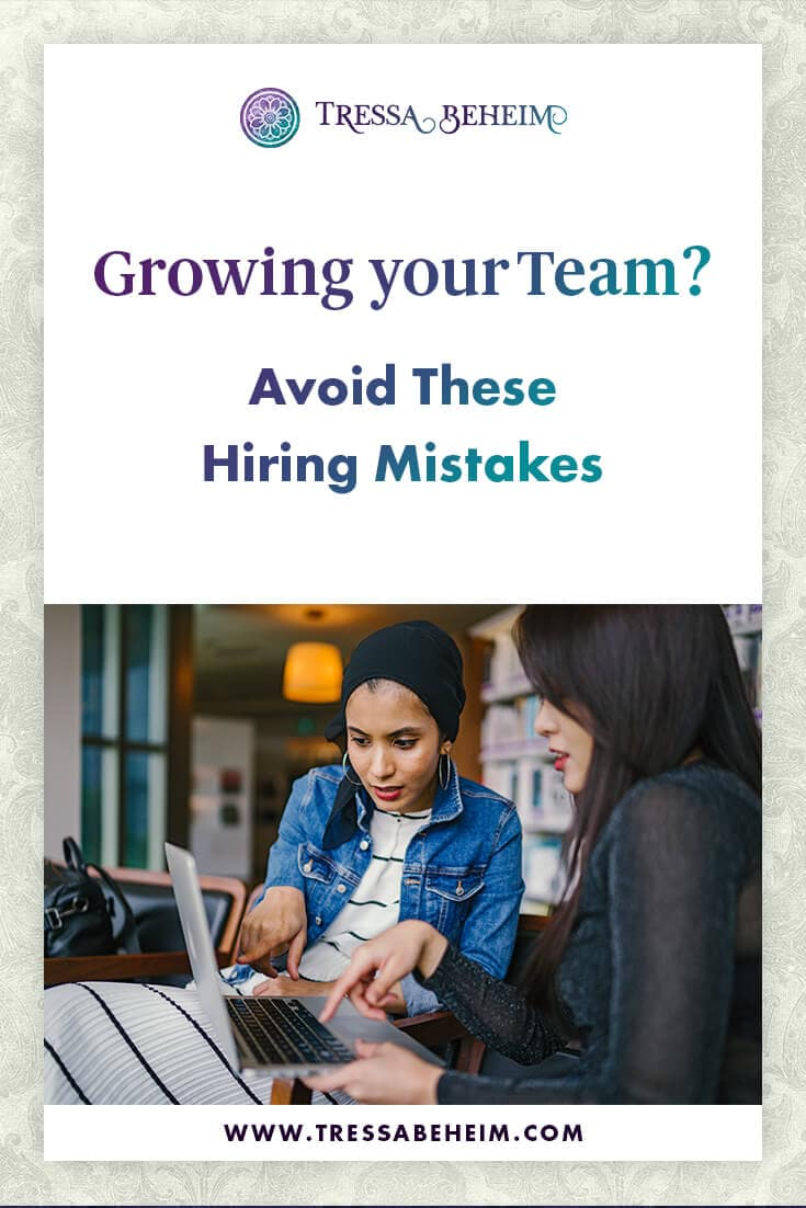 Sometimes someone who seems like the perfect fit for your team actually isn't. Here are some common hiring mistakes and how to avoid them.