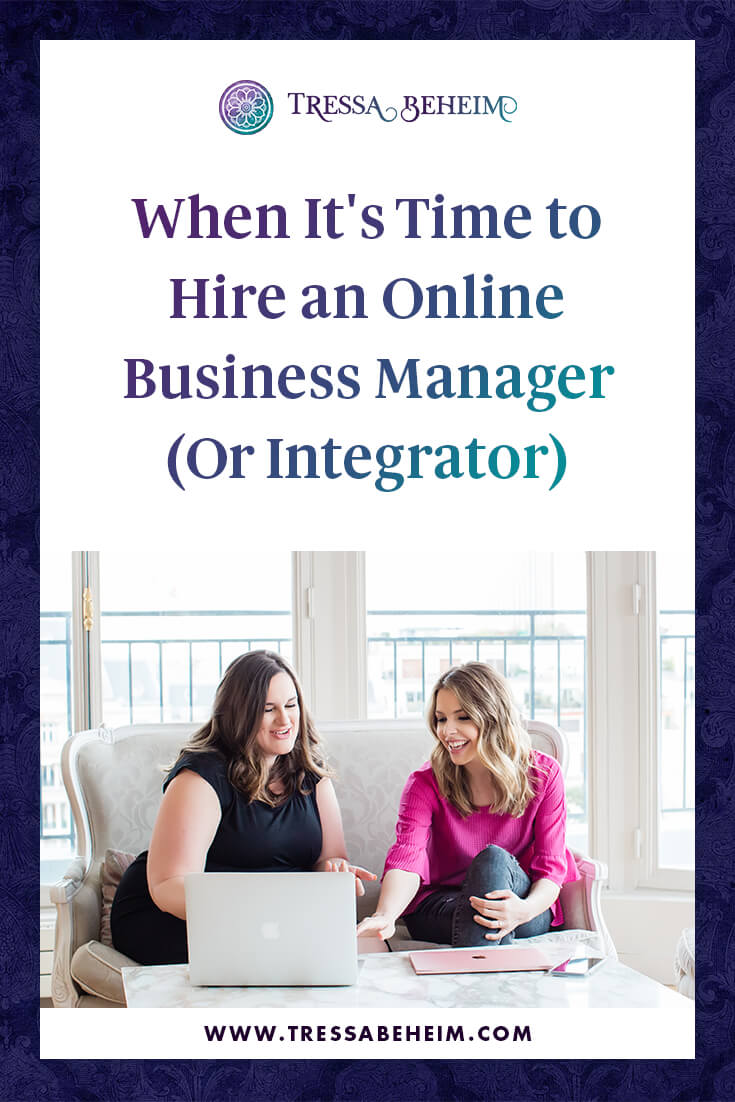 One of my greatest joys as an online business manager (OBM) and strategic partner is helping business owners see that not everything has to be so hard. Yes, building a business is work, and it takes a lot of time and effort, but it doesn't have to be debilitating or demoralizing as so many owners experience. It is possible to run your business with ease — rather than your business running you. But it takes the right support, systems, and structures in place to make sure you can continue to build the business you want in the way you want.