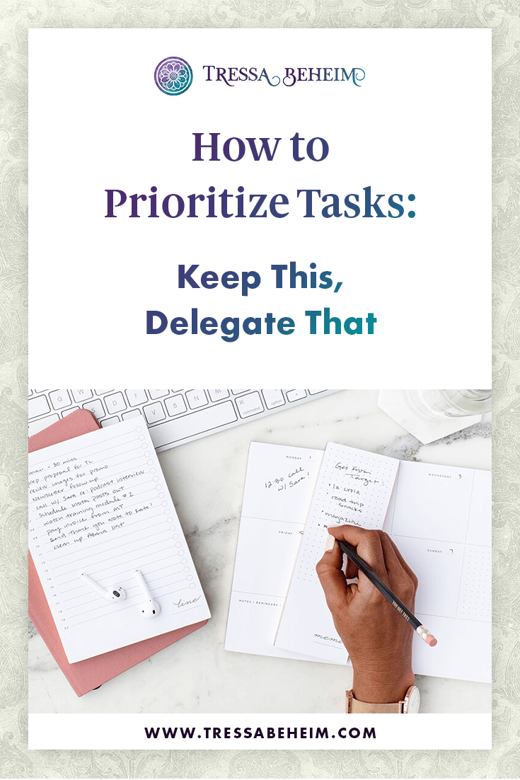 As you grow your business, figuring out what's most important to spend your time on is critical. Here are some ideas on how to prioritize tasks.