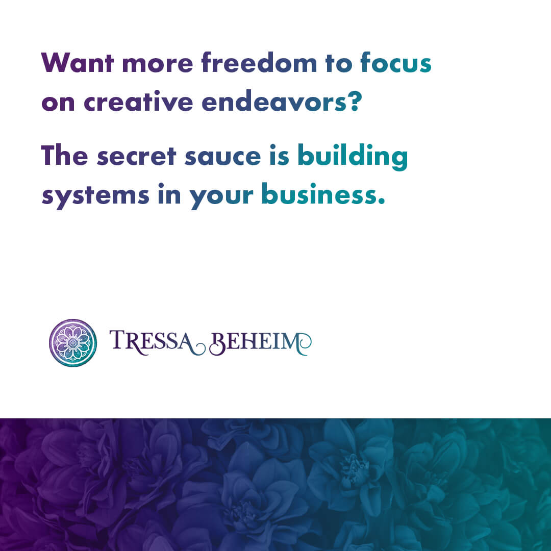 When you're a rebel entrepreneur, systems can feel restrictive. Here are some ideas on how business systems can help you be more productive.
