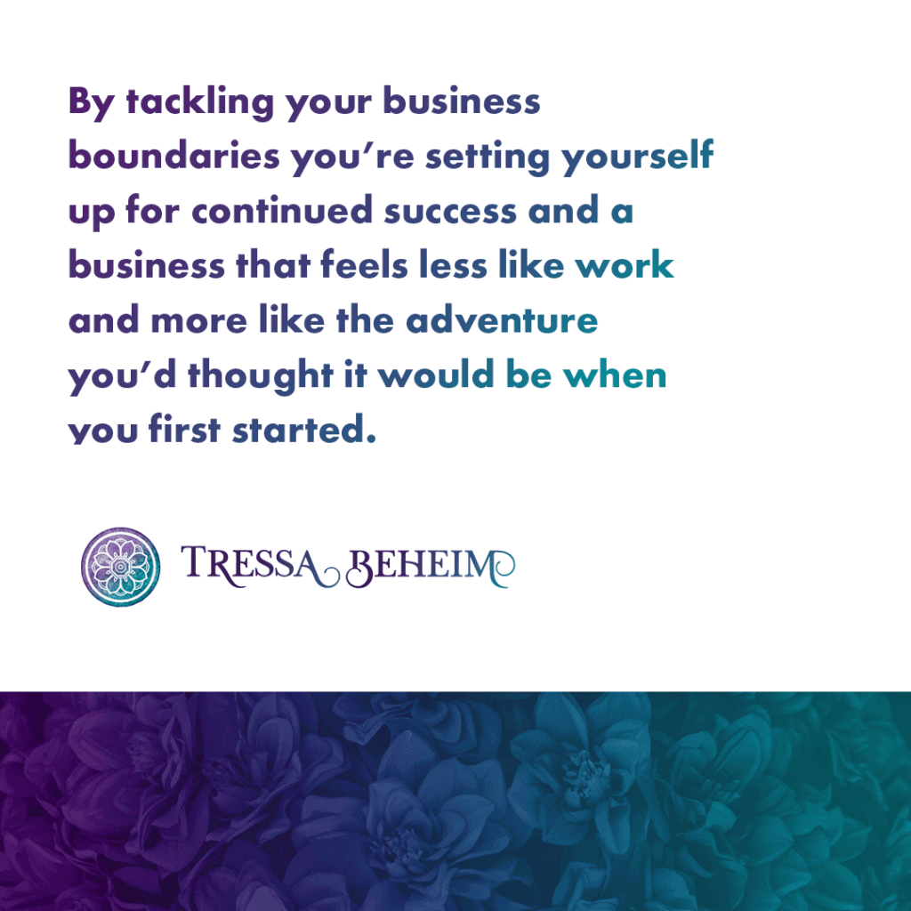 When you run your own business, working 24/7 is a slippery slope. Here are some ideas for how you can set business boundaries that let you thrive.